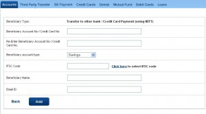 add as beneficiary