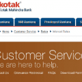 Kotak Mahindra Bank interest rates
