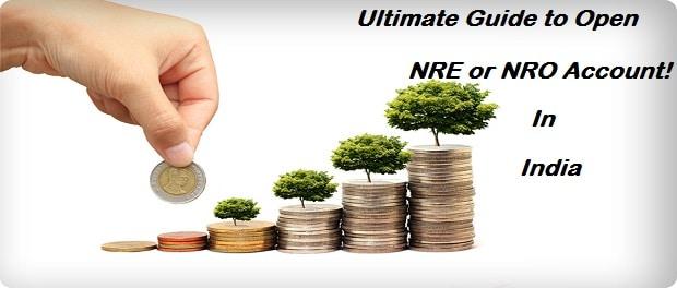 Open NRE or NRO Account