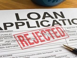 Loan Application Rejected