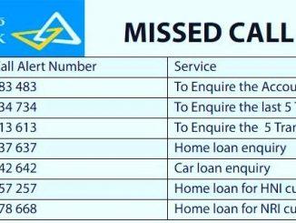 canara missed call balance check