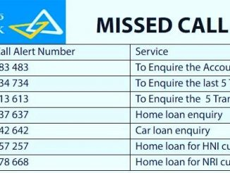 canara missed call balance check