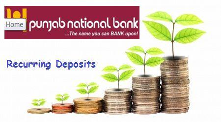 pnb recurring deposit