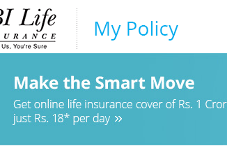 check SBI life insurance policy status online