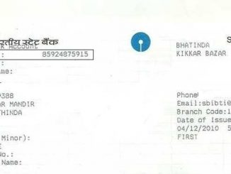 cif number in sbi passbook