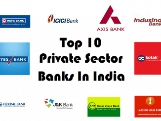 Top 10 Private Sector Banks In India
