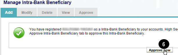 approve beneficiary