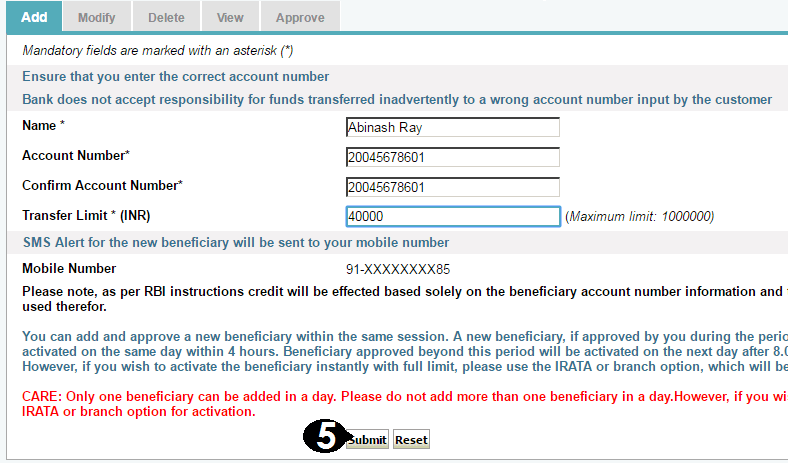 how to create a bank account online in sbi