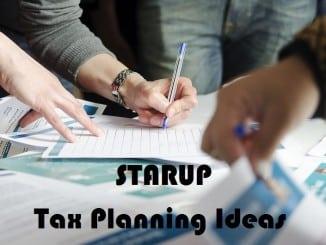 Startup Tax Planning