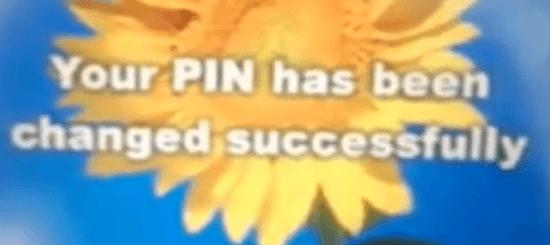 sbi atm pin changed