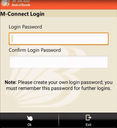 create bob m connect password