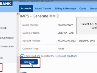 generate mmid hdfc chillr app