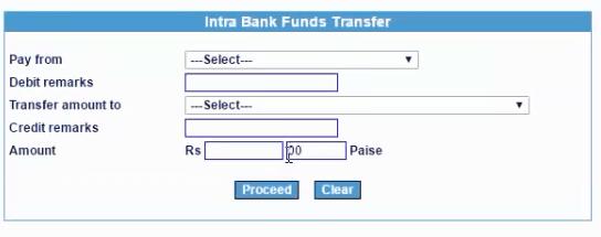 iob to iob fund transfer details