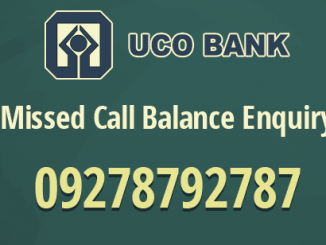 uco bank balance enquiry number