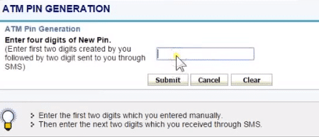 enter last two digits sent to your registered mobile number