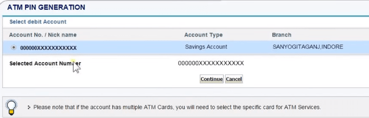 How To Generate ATM PIN SBI Online