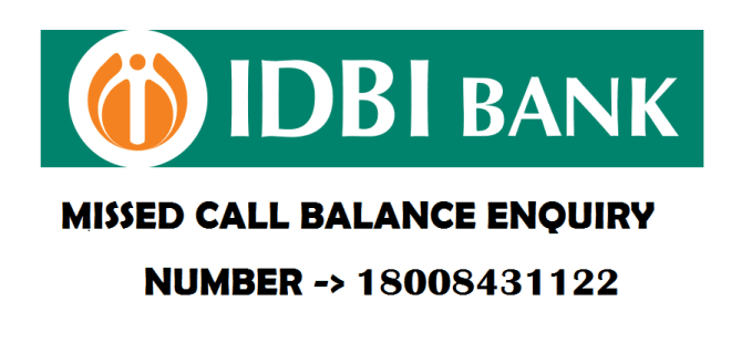 IDBI bank Account Balance Enquiry