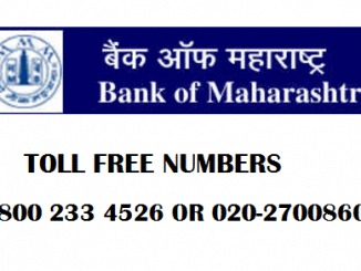 bom toll free numbers