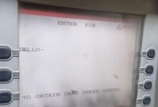 enter pin axis bank atm