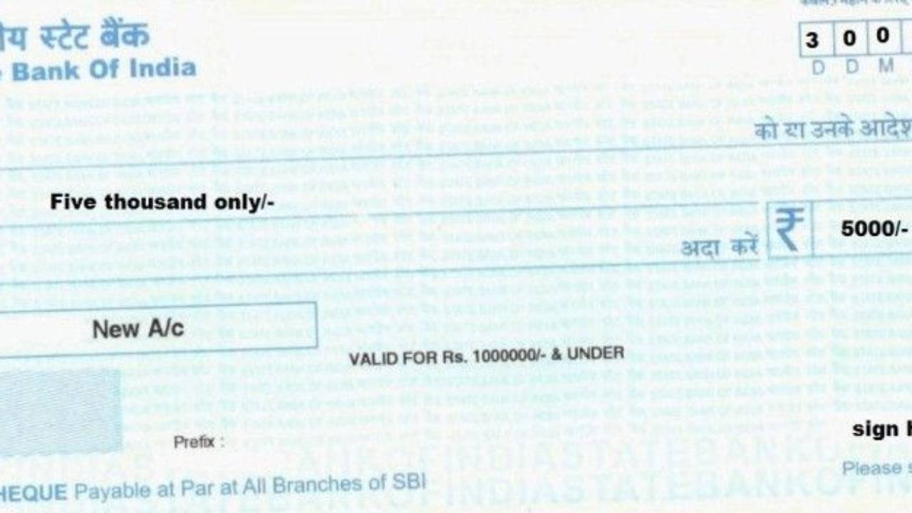 check without payee name