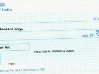 fill sbi cheque