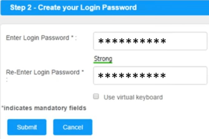 create login password canara net banking