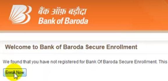 enroll bank of baroda net banking