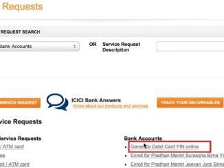 generate debit card pin online
