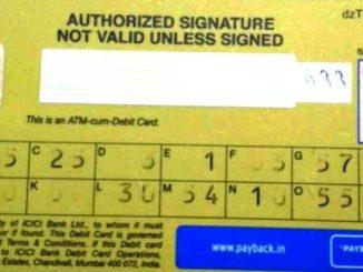 grid value icici debit card