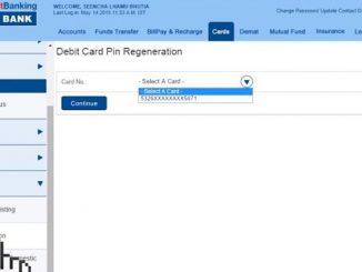 pin-regeneration hdfc bank online