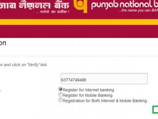 register for pnb net banking