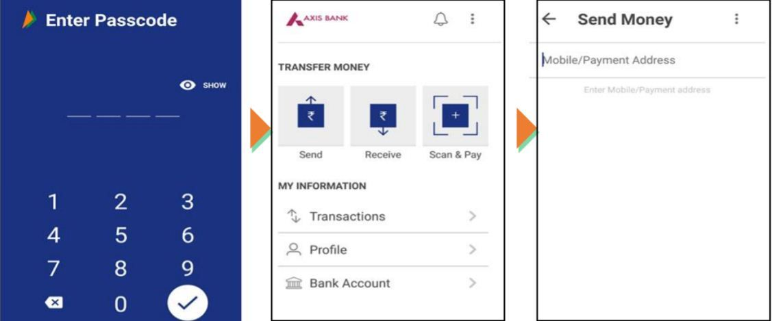 send money bhim app