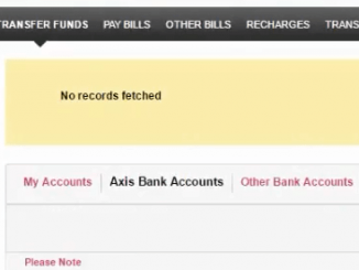 add new payee axis bank