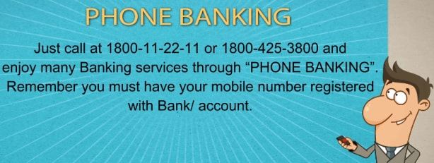 sbi phone banking registration