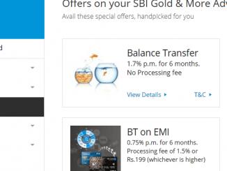 increase sbi credit card limit