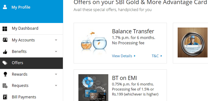 increase sbi credit card limit