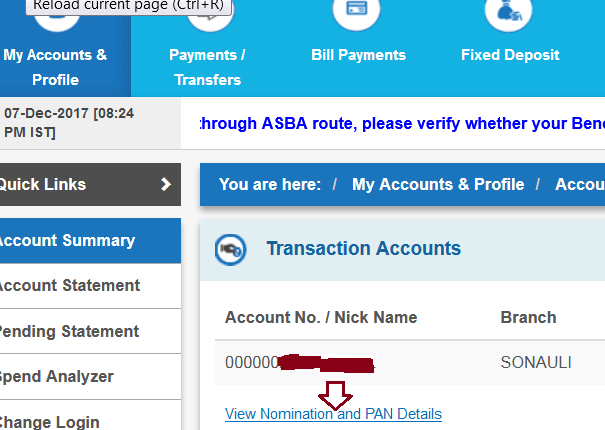 How to Get CIF Number in SBI Without Passbook