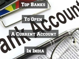 top banks to open current account in india