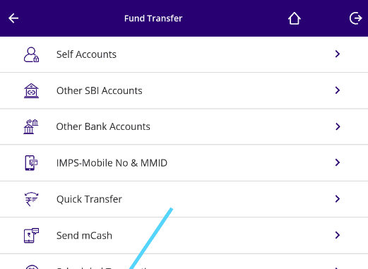 add beneficiary in sbi anywhere personal app