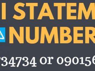 canara bank mini statement toll free number