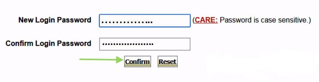 create new login password in sbi net banking