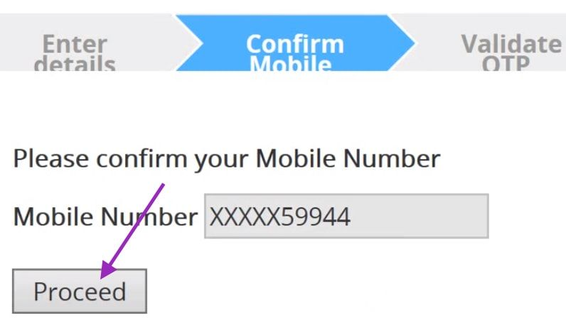confirm mobile number Andhra bank net banking