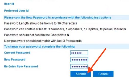 create user id and password for allahabad bank