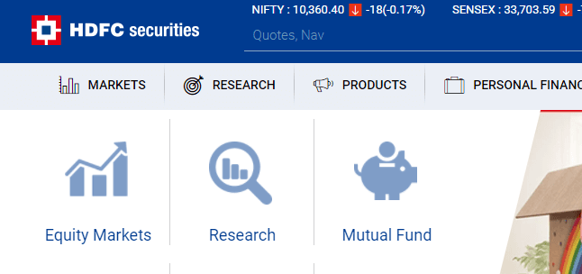hdfc securities trading demat account