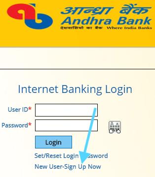 online registration for internet banking in andhra bank