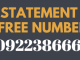 sbi mini statement toll free number
