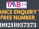 tmb balance check number