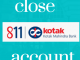 close kotak 811 account