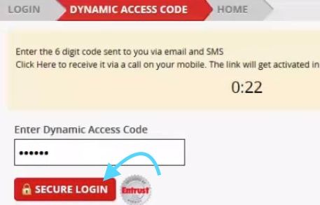 Dynamic access code kotak bank net banking