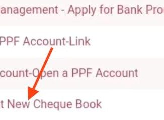 request new cheque book pnb